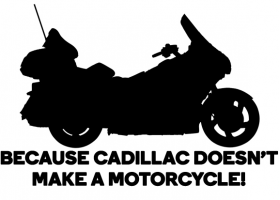 Goldwing Silhouette Decal Picture