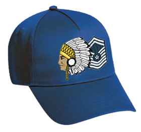 Royal Blue Chiefs Hat
